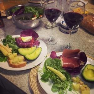 Jantar de gala! <3